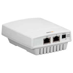 AXIS T81B22 PoE-injector - 51 V DC Uitgang - 1 10/100/1000Base-T Input Port(s) - 1 10/100/1000Base-T Output Port(s)