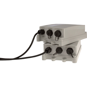 AXIS T8124-E PoE-injector - 110 V AC, 220 V AC Ingang - 55 V DC Uitgang - 1 10/100/1000Base-T Output Port(s) - 60 W