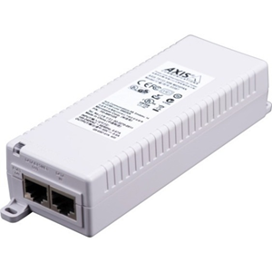 AXIS T8133 PoE-injector - 120 V AC, 230 V AC Ingang - 1 10/100Base-TX Input Port(s) - 1 10/100Base-TX Output Port(s) - 30 W - Monteerbaar aan muur/schap/DIN rail