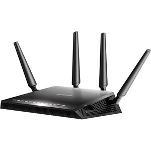 Netgear Nighthawk X4S R7800 IEEE 802.11ac Ethernet Wireless router - 2.40 GHz ISM-band - 5 GHz UNII Band - 4 x Antenne(4 x Extern) - 2590.72 Mbit/s Snelheid van draadloos netwerk - 4 x Netwerkpoort - 1 x Breedbandpoort - USB - Gigabit Ethernet - VPN-ondersteund - Bureaublad