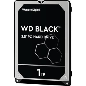 """WD Black WD10JPLX 1 TB 2.5"""" Intern Harde schijf - SATA - 7200rpm - 32 MB buffer"""