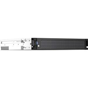 "Netgear ReadyNAS 4312S 12 x Total Bays SAN/NAS-opslagsysteem - 2U - Monteerbaar in rek - Intel Xeon E3-1245 v5 Quadcore (4-core) 3.50 GHz - 4 x HDD geïnstalleerd - 24 TB Capaciteit geïnstalleerde HDD - 16 GB RAM DDR4 SDRAM - Serial ATA controller - RAID-ondersteund 0, 1, 5, 6, 10, Hot Spare, JBOD, X-RAID2 - 12 x 2.5""/3.5"" gleuf - 10 Gigabit Ethernet - eSATA - 2 USB Port(s) - 2 USB 3.0 Port(s) - Netwerk (RJ-45) - ReadyNAS OS 6 - LACP, DLNA, IPv6, NTP, SMTP, Rsync, WEBDAV, NFSv3, iSCSI, TCP/I"