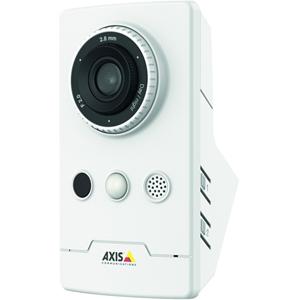 AXIS Companion Cube LW 2 Megapixel Netwerkcamera - Kleur, Monochroom - 10 m Night Vision - MPEG-4 AVC, Motion JPEG, H.264 - 1920 x 1080 - 2.80 mm - RGB CMOS - Kabel, Draadloos - Cube