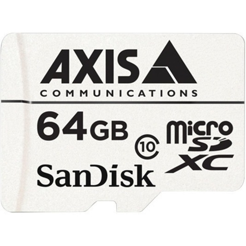 AXIS 64 GB microSDXC - Klasse 10 - 20 MB/s lezen - 20 MB/s schrijven