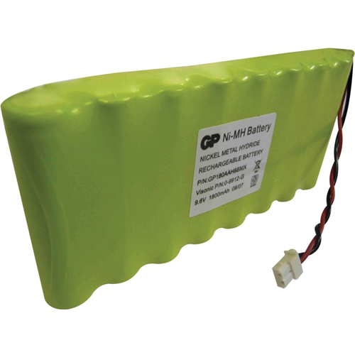 Visonic Beveiligingsapparaat, Draadloos alarm Batterij - 1800 mAh - Nickel Metal Hydride (NiMH) - 9.6 V DC - Oplaadbare batterij