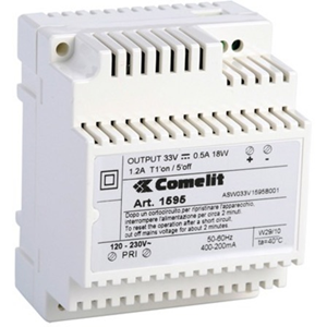Comelit 1595 Proprietary voeding - 33 V DC Output Voltage - DIN Rail