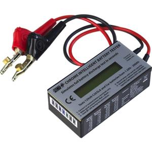 ACT CHROME Batterijtester - Spanningsmonitor, Stroommeting