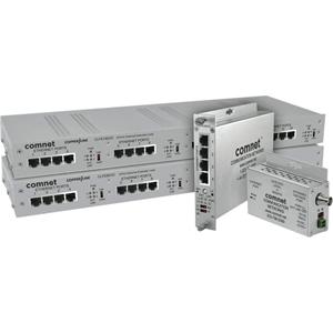 ComNet CopperLine CLFE1EOC Netwerk Extender - 1 x Netwerk (RJ-45) - 1.52 km Extended Range