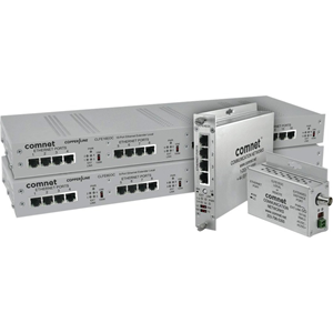 ComNet CopperLine CLFE1EOU Netwerk Extender - 1 x Netwerk (RJ-45) - 1.52 km Extended Range