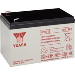 Yuasa NP12-12 Multifunctioneel Batterij - 12000 mAh - Gesloten lood (SLA) - 12 V DC - Oplaadbare batterij