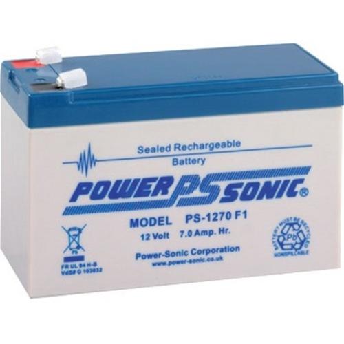 Power-Sonic PS-1270 Multifunctioneel Batterij - 7000 mAh - Gesloten lood (SLA) - 12 V DC - Oplaadbare batterij - 1 verpakking