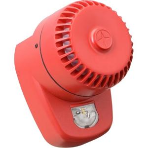 Eaton RoLP LX Beveiligingsalarm - 60 V DC - 102 dB(A) - Hoorbaar, Visueel - Rood, Rood