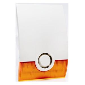 Videofied Sirene - Wireless - 4.5 V DC - 100 dB(A) - Hoorbaar - Oppervlakbevestiging - Oranje