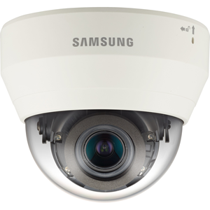 Hanwha Techwin WiseNet QND-7080RP 4 Megapixel Netwerkcamera - Monochroom, Kleur - 20 m Night Vision - Motion JPEG, H.264 - 2592 x 1520 - 2.80 mm - 12 mm - 4.3x optische - CMOS - Kabel - dome