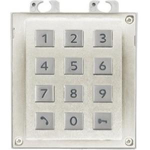 2N Beveiligingstoetsenbord - Wit, Nikkel
