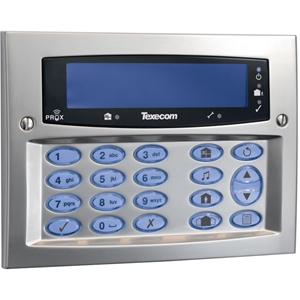 Texecom Premier Elite Beveiligingstoetsenbord - Voor Bedieningspaneel - Satijnchroom