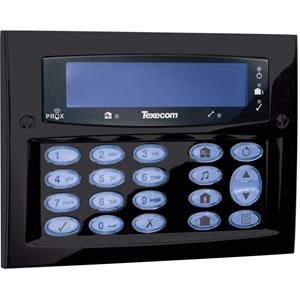 Texecom Premier Elite Beveiligingstoetsenbord - Voor Bedieningspaneel - Diamant zwart