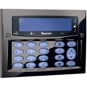 Texecom Premier Elite Beveiligingstoetsenbord - Voor Bedieningspaneel - Gunmetal