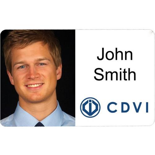 CDVI CP ID-kaart - Bedrukbaar - Proximity card - 85 mm breedte x 54 mm lengte - Polyvinylchloride (PVC)