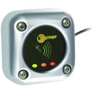 Paxton Access Toegangsapparaat voor kaartlezer - Chrome - Deur - Proximity - 1 Deur(en) - 12 V DC - Oppervlakbevestiging