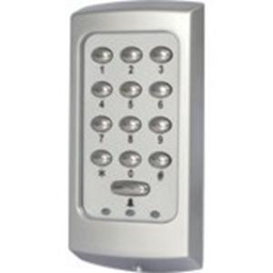 Paxton Access KP75 Kaartlezer/slot met cijfercode - Zwart - Deur - Proximity, Sleutelcode - 1 Deur(en) - 300 mm bereik - Ethernet - 12 V DC - Oppervlakbevestiging