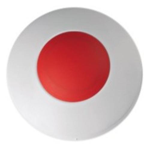 Visonic MCT-220 Drukknop Voor Fabriek, Ziekenhuis, Garden, Zwembad, Douche, Badkamer - Wit, Rood
