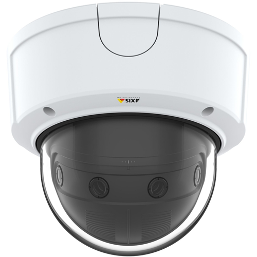 AXIS P3807-PVE 8.3 Megapixel Netwerkcamera - dome - H.264, MPEG-4, MJPEG - 4320 x 1920 - RGB CMOS - Ingebouwde montage, Paalmontage, Muurbevestiging, Voetmontagebeugel, Plafondsteun, Hoekbevestiging