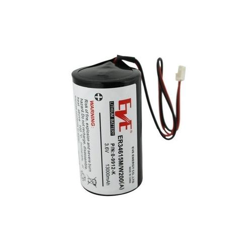 Visonic Batterij - Lithium Ion (Li-Ion) - Voor Sirene - Oplaadbare batterij - 3.6 V DC - 19000 mAh