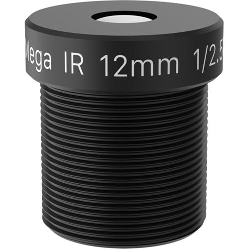AXIS - 12 mm - f/1.6 - Vaste brandpuntafstand Lens voor M12-bajonet - Ontworpen voor Surveillance camera