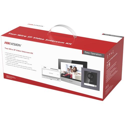 """Hikvision 17.8 cm (7"""") Videofoon - TFT LCD - 2 Megapixel - CMOS - Access Control, Deur"""