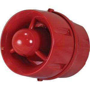 C-TEC Beveiligingsalarm - Rood - Bedraad - 40 V DC - 100 dB - Hoorbaar - Aan de muur monteerbaar