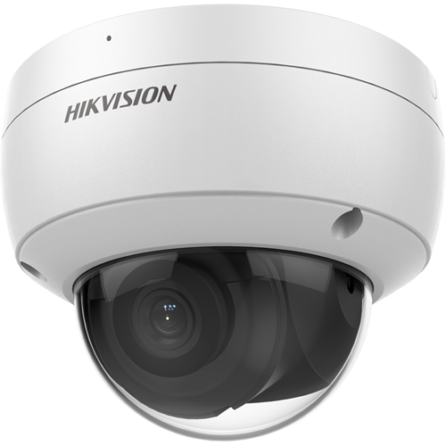Hikvision EasyIP DS-2CD2186G2-I 8 Megapixel Netwerkcamera - dome - 30 m Nachtvisie - H.265, H.264, MJPEG - 3840 x 2160 - CMOS - Verticale bevestiging, Paalmontage, Bevestiging voor verdeeldoos, Hoekbevestiging, Muurbevestiging, Hangbevestiging, Auto-houder