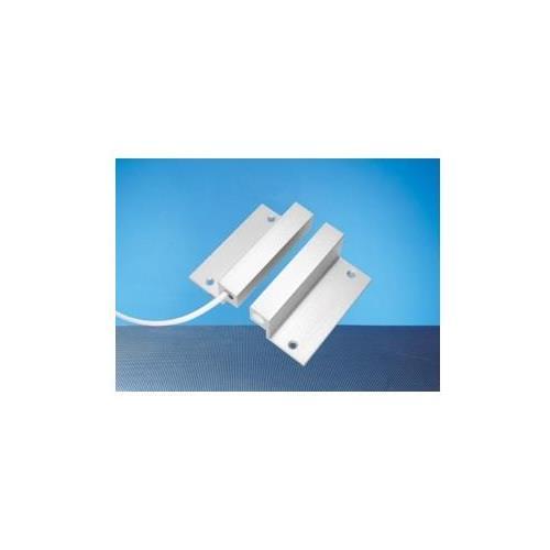 Elmdene opbouw magneetcontact Aluminium met hoekbeugel