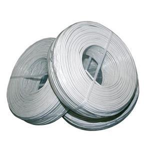 Soepele kabel afgeschermd 8x0.22+2x0.5 100m Ring
