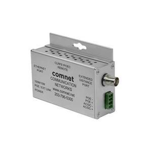 Comnet ethernet over coax converter, 1-kanaals, 30w of remote inj.