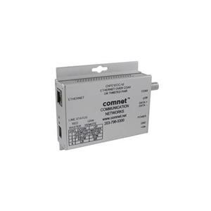 Comnet ethernet over UTP of coax converter, 1-kanaals