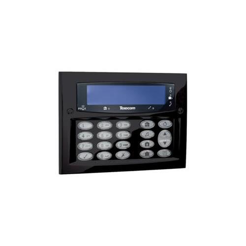 Texecom Premier Elite LCD Codeklavier opbouw Zwart