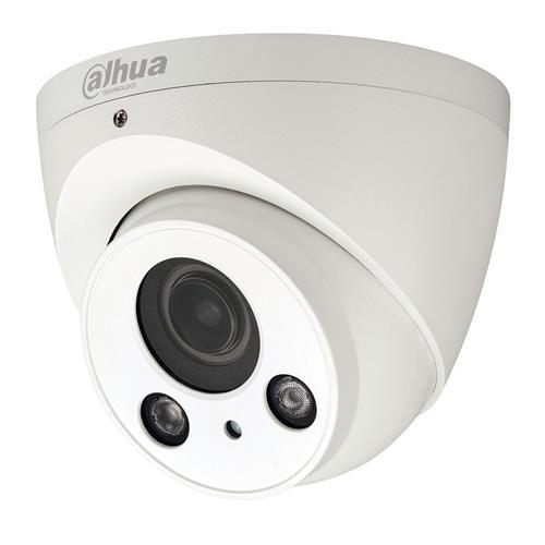 Dahua HDoC Eyeball / Turret camera Voor buitengebruik Resolutie: 2MP Lens: 2.7-12mm MZF