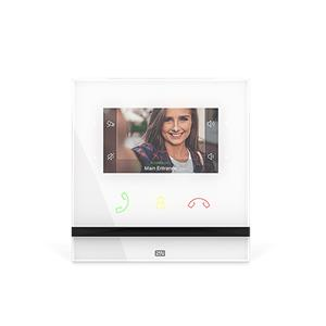 VIDEO ENTRY MONITOR Indoor Compact,White
