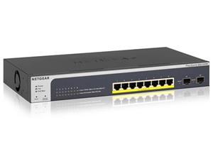 NETWERK SWITCH 8x100/1000(PoE+) + 2xSFP
