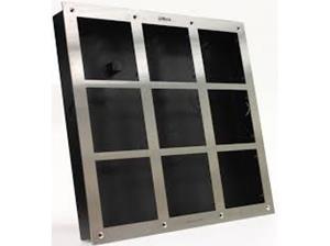 INTERCOM ACC Front paneel 9 modules