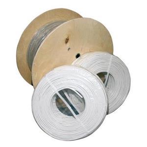 Massieve kabel afgeschermd 2x0.5+2x0.6 500m haspel