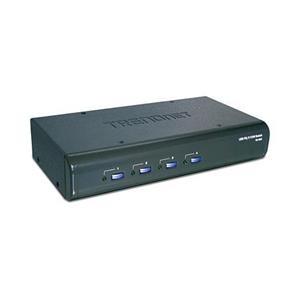 Beheer 4 computers / servers met één set console-bedieningselementen Hoge kwaliteit videoresolutie tot 2048 x 1536 Alle benodigde kabels i