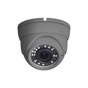 2MP grijze Eyeball Vari-focale 2,8-12mm-lens 12VDC / PoE 40 m IR-bereik Garantie 5 jaar