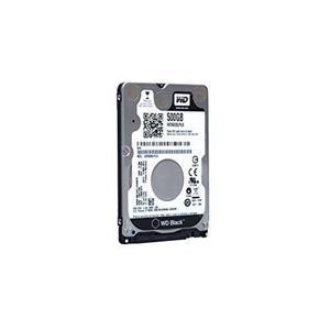"""WD Black WD5000LPLX 500 GB 2.5"""" Intern Harde schijf - SATA - Portable - 7200rpm - 32 MB buffer - Bulk"""