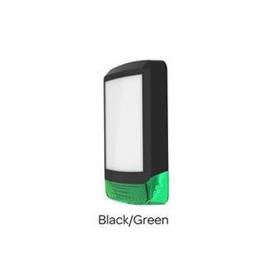Domestic Sirene kap Odyssey X1 Zwart/Groen