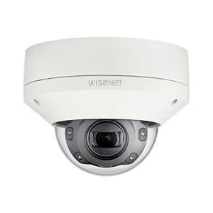 Hanwha Vandaalbestendige Outdoor IP Dome camera 2MP 60fps 2.8-12mm MZF IR 70m