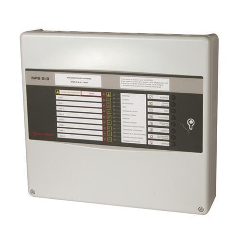 Notifier Bedieningspaneel brandmelder - 8 zone(s)