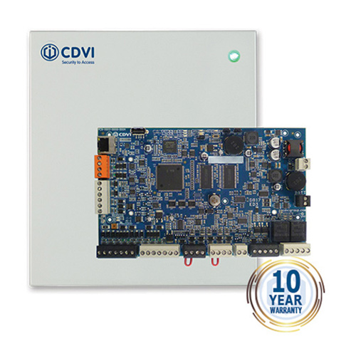CDVI, Atrium Krypto Centrale, Webbased systeem, Desfire EV2 lezers, voor 2 deuren/4 lezers