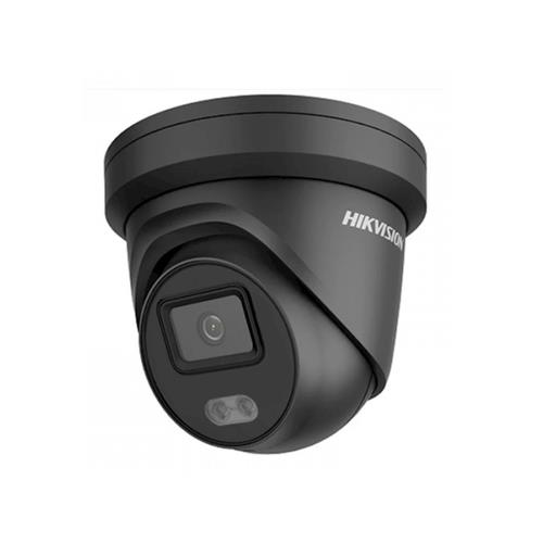 Easy Ip4.0 Colorvu G2 Acusense - IP Eyeball/Turret Camera -Zwart, Voor Buitengebruik, Resolutie 4mp, Lens 2.8mm, Met Microfoon